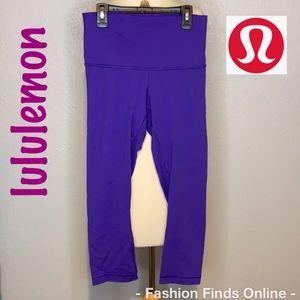 Lululemon leggings 3/4 length